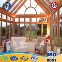 Liyasheng brand sun house/heat insulation aluminum sun room