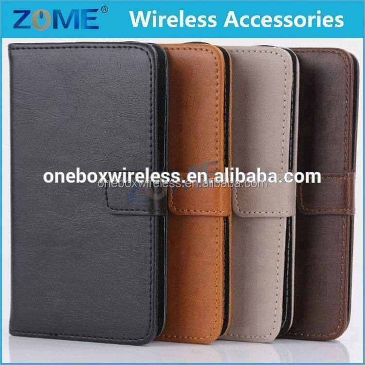 alluring crazy horse texture upright and pulchritude pu leather case