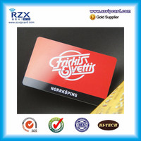 Beautiful printing plastic PVC card for shopping center