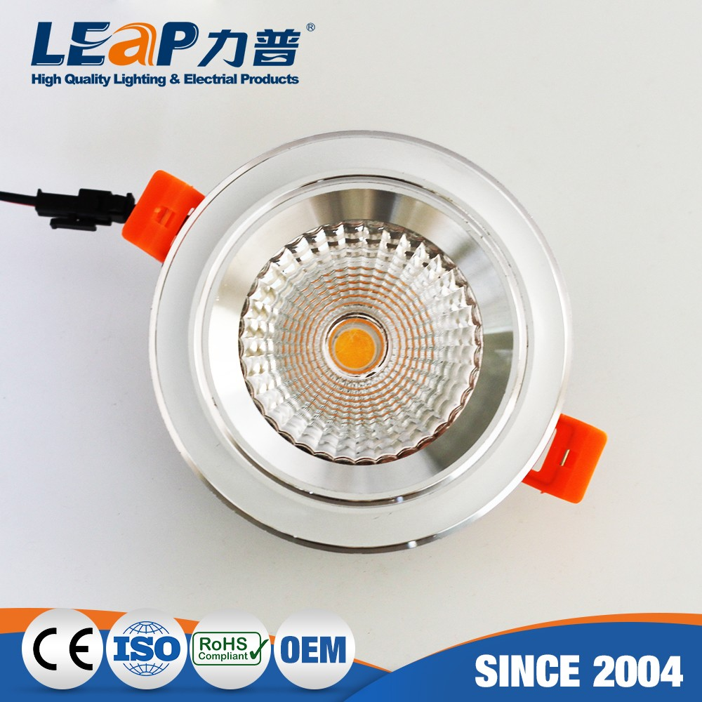 Oem Production Ceiling Fittingceiling Covers Cob Downlight Sipled Spot Light