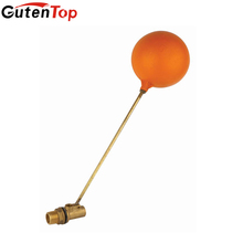 GutenTop High Quality and Hot Sell Water Tank Brass Float Ball Valve Brass Stem with Pastic Ball