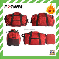 2015 Forwin Hot Sale Nylon Duffle Fold Up Travel Bag