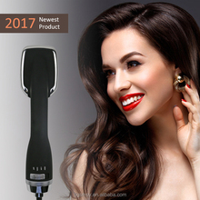 Wholesale Professional Electric Hair Dryer Straightening Brush 2 in 1 hair dryer and styler