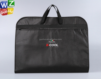 High quality non woven foldable suit bag