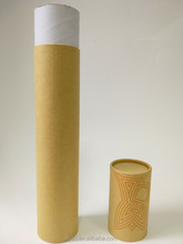 customised sizes round industrial cardboard tubes mailing shipping tubes