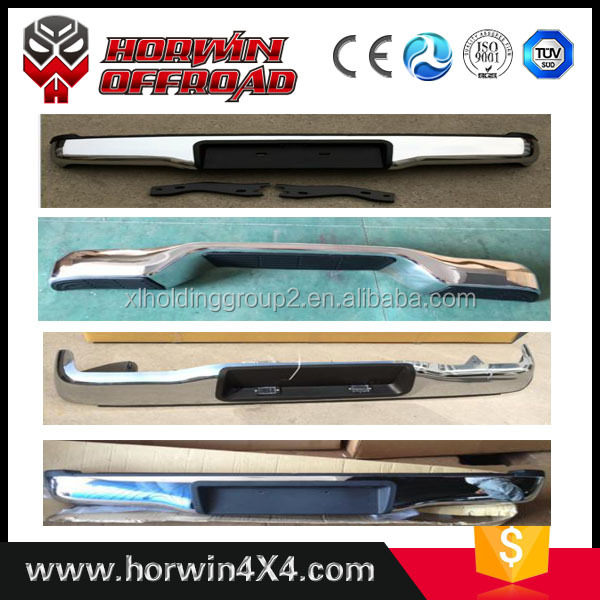 bumper car parts for hilux vigo and auto rear bumper fit for 2012-1014 pick-up cars.