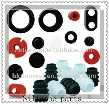 silicone rubber parts/silicone accessories with custom logo