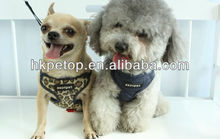 Luxury Dog harness with leash