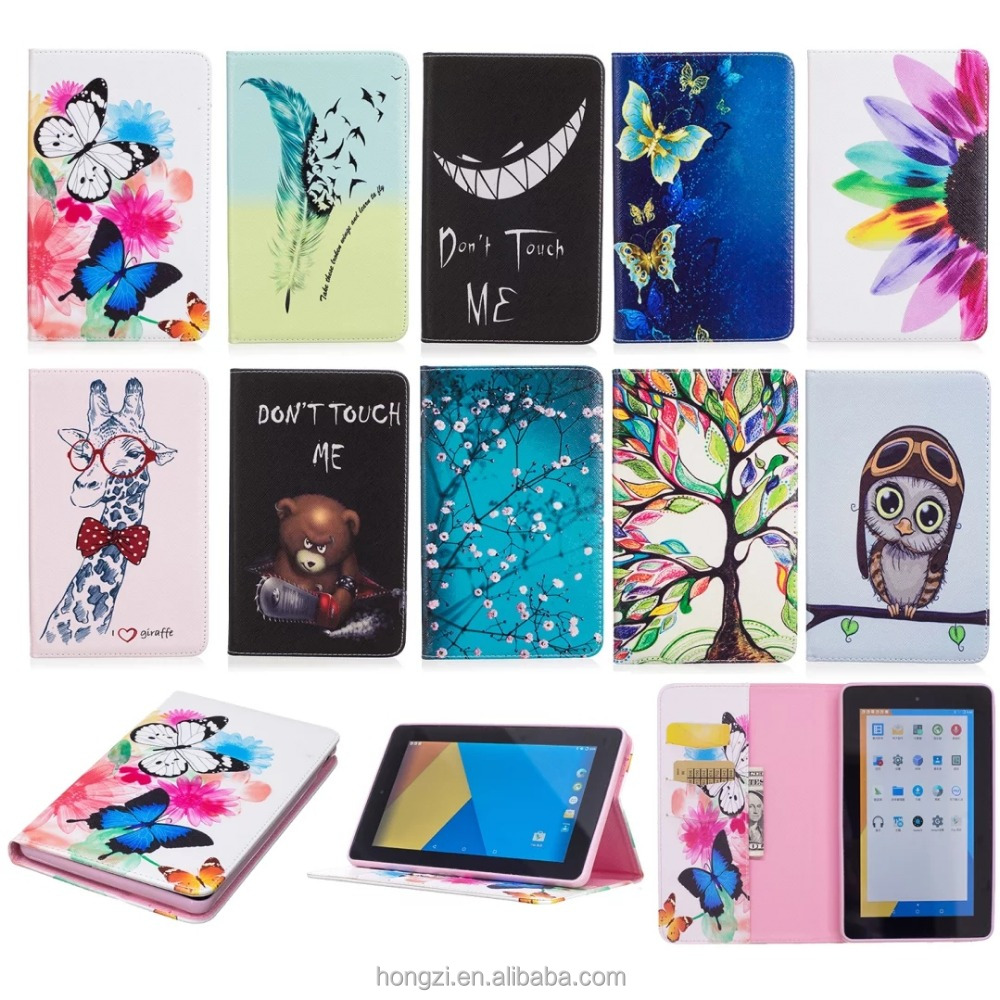 Tpu coloured drawing or pattern two-in-one pc+ tpu For amazon - fire 7 kindle pad paperwhite Cover Smartcover