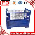 made in china Foldable and Stackable Wire Bin