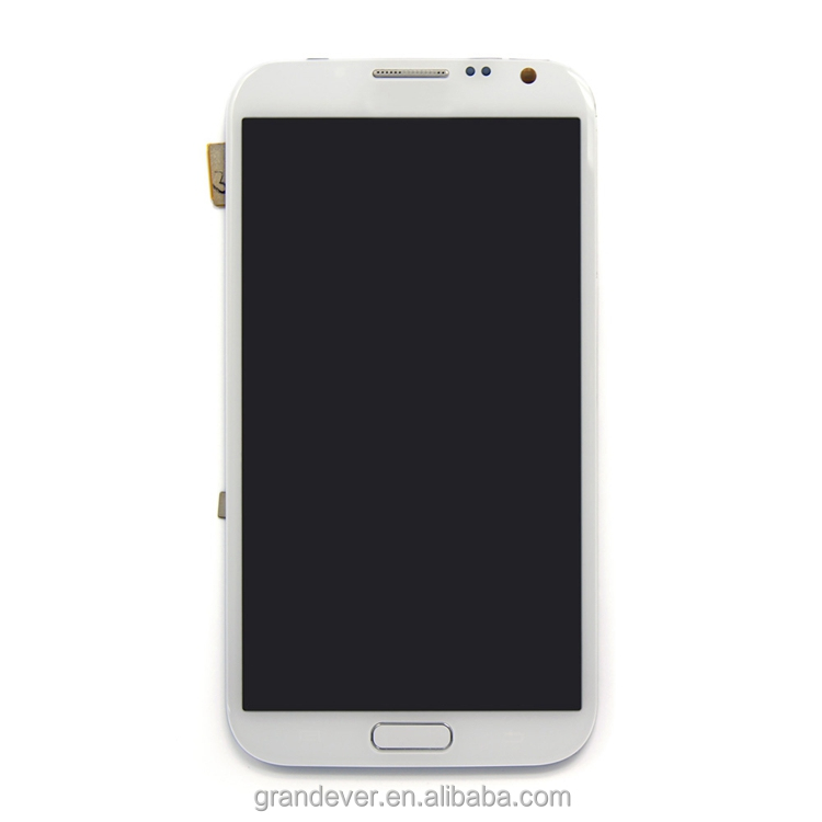 China gold supplier!Lcd touch screen with digitizer for samsung galaxy note2 n7100