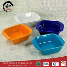 Factory Wholesale Price Buffet Food Warmer Stoneware Sushi Ceramic Egg Shaped Plates