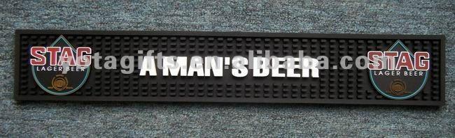 Advertising 2018 rubber bar mat