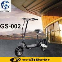 2015 New Design Gas powerful 49cc 4 stroke mini gas scooter For Sale