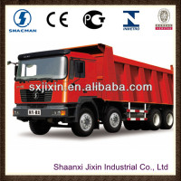 shacman man f2000 mine haul tipper trucks 8x4
