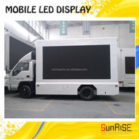 design electronic display panel outdoor mobile billboards for sale led tv advertising