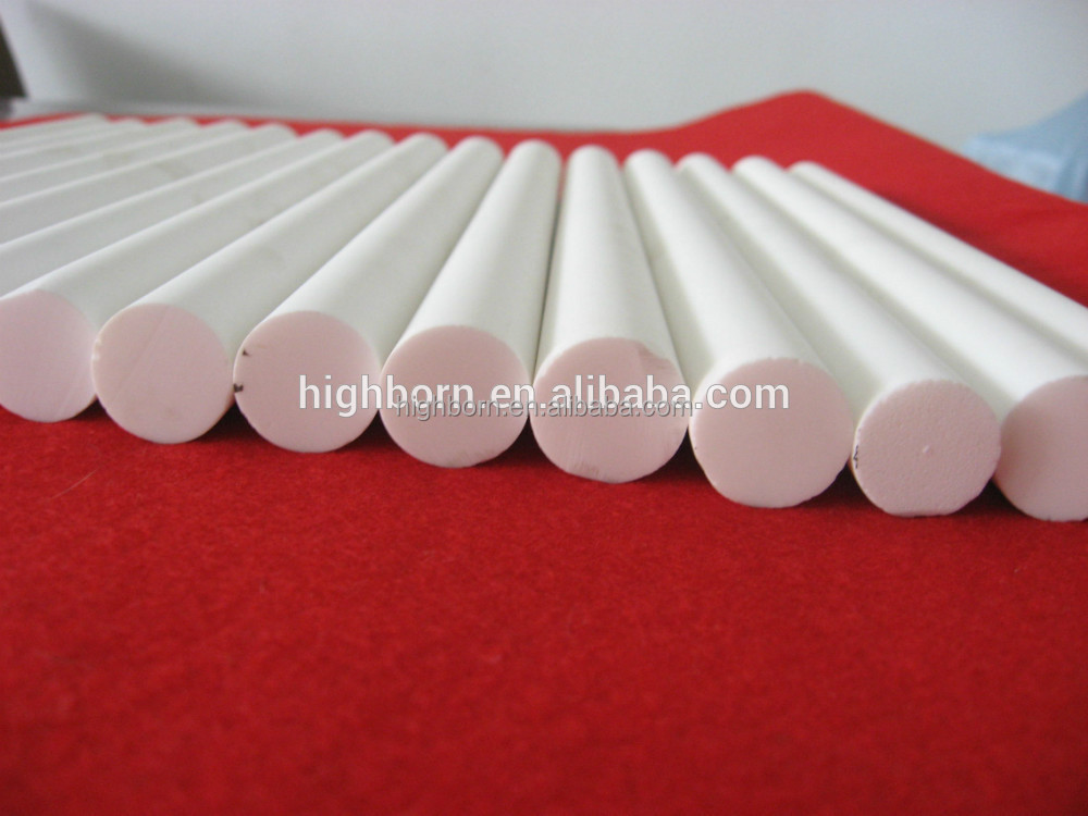 Alumina Ceramic machinable glass ceramic rods <strong>15</strong>*150mm