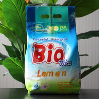 Laundry Detergent Plastic Packaging Bags/washing powder bag design