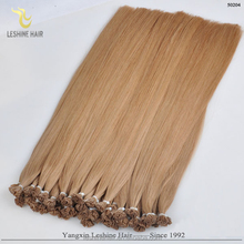 Italy Keratin No Shedding No Tangle Type Flat Tip Pre-boned Human Remy Hair Extension