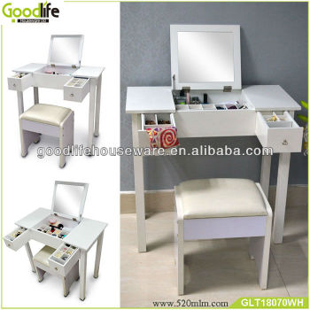 Guangdong wholesale makeup dresser with mirror