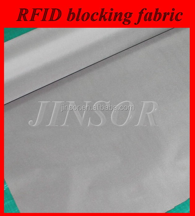 conductive fabric nickel copper anti radiation rfid blocking fabric