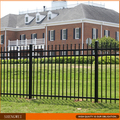 Powder coated decorative wrought iron garden fence