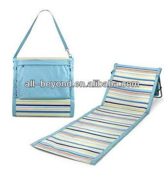Colorful Foldable Foam Pad Fleece Waterproof Beach Mat