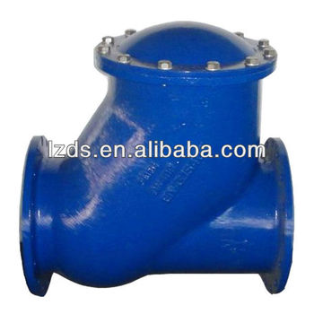 DN400 Flanged Ball Check Valves