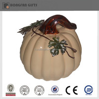 cheap ceramic white pumpkin