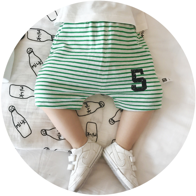 S17044A Wholesale Baby Clothes Organic Cotton Shorts