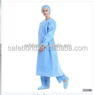 Non-woven Dental Disposable Surgical Gown for Doctor Sterile Surgical Gown