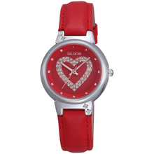 Trendy design love face OEM lady watch excellence quartz rokas pulkstenis