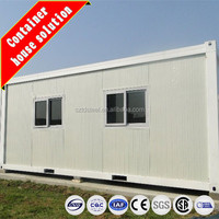 Low cost two-storey living 20ft container house