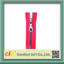 Waterproof Fashionable Large Plastic Zipper