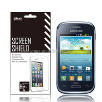 Anti-scratch screen protector for Samsung Galaxy Young S6310 oem/odm