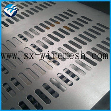 square hole perforated sheet sun screen metal wire mesh