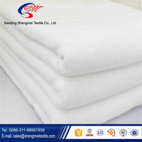 Good Quality Soft Plain White Hotel Face hundred percent cotton Towel