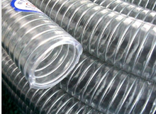 1 Inch drainage pvc suction hose PVC Spiral Pipe