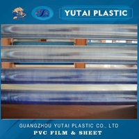 Thickness 0.06-0.5mm normal clear PVC film for book cover and gift package