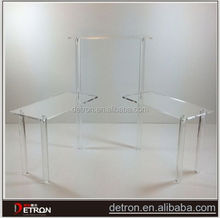OEM well design acrylic display stand for t shirts