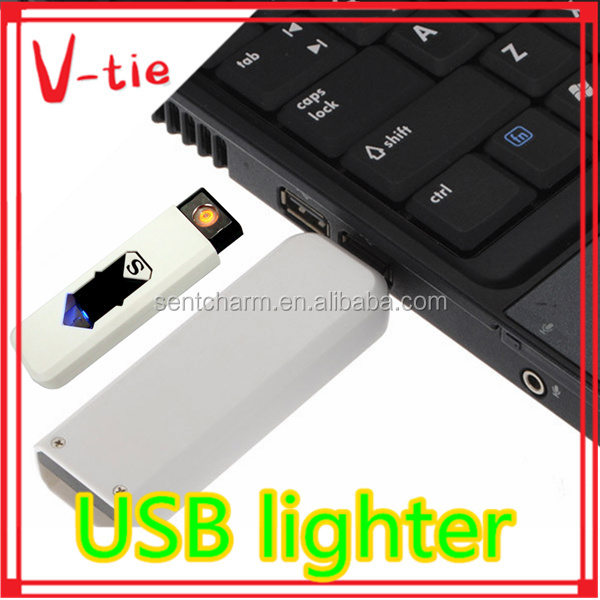 Top popular usb cigarette lighter with names for promotion