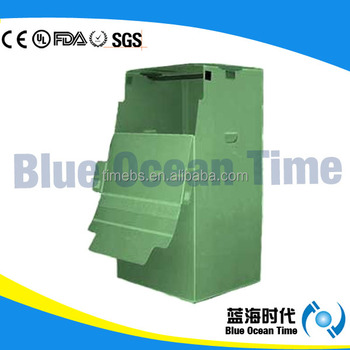 PP Collapsible Plastic Corrugated wardrobe boxes