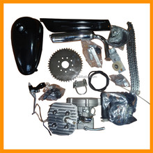 Powered scooter gas petrol motor 2 stroke 48cc 49cc 50cc 60cc 66cc 80cc motorized bicycle engine kit with gas tank