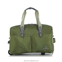 Army Green Famous Brand Foldable Luggage