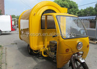 New Designed Multifunctional Gasoline Motorcycle Street Food Van / Mobile Food Trailer / Mobile Van YS-TG175B