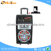 hot sale product super cell phone big bass portable trolley speaker with fm radio usb port for phone made in China P-5