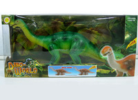Roaring dino world long Necked walking dinosaur toy with light and sound