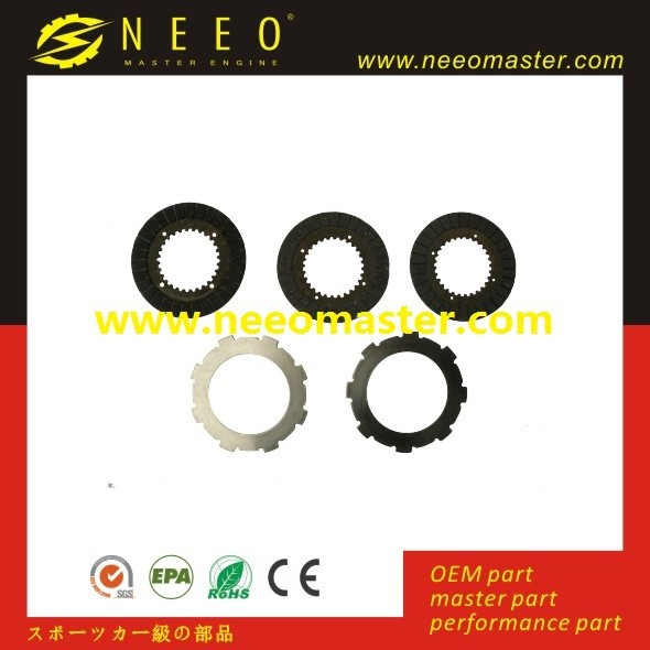 Honda gasoline engine parts, 5.5HP, 6.5HP, 13HP, 168F, GX160, GX200, GX270, GX390 1/2 reduction Clutch plate FOR Go kart parts