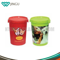 Wholesale Cheap price 15KG 42L plastic pet food storage container