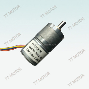 GM20-20BY 12vdc and Stepper motor